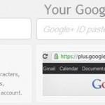 Google+ Profil Adresinizi Kısaltın
