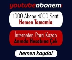 Youtube Abone Kasma, İzlenme, Beğeni, 1000 Abone 4000 Saat Kasma