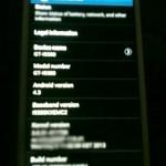 Android 4.3 Galaxy S3'te Görüntülendi